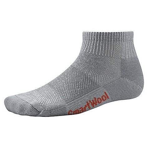 Camp and Hike Smartwool Hiking Ultra Light Mini Sock FEATURES of the Smartwool Hiking Ultra Light Mini Sock Mesh ventilation zone Flat knit toe seam Elasticized arch brace Made in USA - $13.95