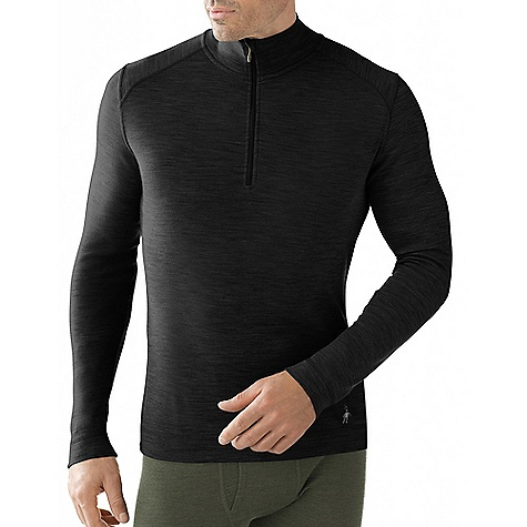 On Sale. Free Shipping. Smartwool Men's Midweight Zip T DECENT FEAUTURES of the Smartwool Men's Midweight Zip T Form Fit Interlock Knit; Upf 50 Zip T With Set-In Long Sleeves Has 10in. (25Cm) #3 Coil Zipper With Chin Guard Shoulder Panels Eliminate Top Shoulder Seams Flatlock Seam Construction Eliminates Chafing Heat Transfer Logo At Left Sleeve Cuff The SPECS Knit in China of 100% Merino Wool - $48.99