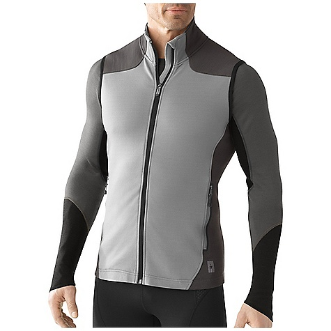 Free Shipping. Smartwool Men's PhD HyFi Vest DECENT FEATURES of the Smartwool Men's PhD HyFi Vest Semi-Form Fit HyFi Double Jersey knit Center front zipper with semi-locking slider, full draft flop and chin guard Secure zip hand pockets The SPECS Garment Weight: 13.4 oz / 380 g Fabric Weight: 370 gm/m2 / 10.9 oz/yd2 Shell: 64% Merino Wool, 36% Nylon Pocket Bag: 100% Polyester - $159.95
