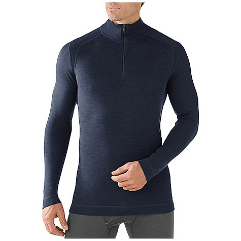 Free Shipping. Smartwool Men's Midweight Zip T DECENT FEATURES of the Smartwool Men's Midweight Zip T Form Fit Interlock knit, UPF 50+ 10in. (25cm) center front zip with semi-locking logo slider Shoulder panels eliminate top shoulder seams Flatlock seam construction is designed to eliminate chafing The SPECS Garment Weight: 10.5 oz / 285 g Fabric Weight: 250 gm/m2 / 7.4 oz/yd2 100% Merino Wool - $104.95