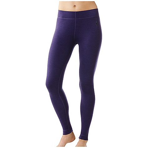 Free Shipping. Smartwool Women's Midweight Bottom DECENT FEATURES of the Smartwool Women's Midweight Bottom Form Fit - Natural Rise Interlock knit; UPF 50 Wide self fabric covered elastic waistband for comfort and a flattering fit Flatlock seam construction is designed to eliminate chafing Heat transfer logo at left hip The SPECS Garment Weight: 6.7 oz / 190 g Fabric Weight: 250 gm/m2 / 7.4 oz/yd2 Inseam: 30in. / 77 cm 100% Merino Wool - $94.95