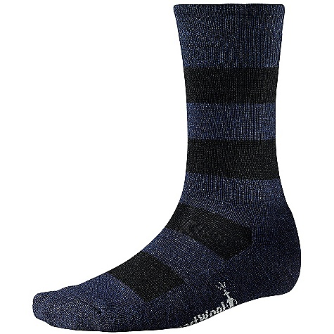 On Sale. Smartwool Men's Double Insignia Sock DECENT FEATURES of the Smartwool Men's Double Insignia Sock Smartwool Pit System with arch and ankle support Strategic mesh zones for maximum ventilation WOW technology The SPECS Height: Crew 74% Merino Wool, 25% Nylon, 1% Elastane - $10.99