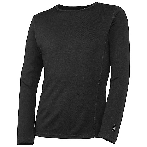 Free Shipping. Smartwool Kids' Crew Top DECENT FEATURES of the Smartwool Kids' Crew Top Form Pit Interlock knit; UPF 50 Crew neck with set-in long sleeves Flatlock seam construction is designed to eliminate chafing The SPECS Garmet Weight: 4.9 oz / 140 g Fabric Weight: 250 gm/m2 / 7.4 oz/yd2 100% Merino Wool - $54.95