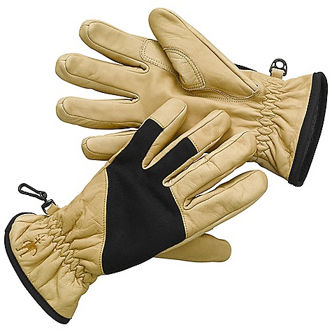 Features of the Smartwool Ridgeway Glove Multi-purpose leather glove with double layer thumb and index finger for reinforcement Terry loop knit interior lining for warmth and comfort - $79.95