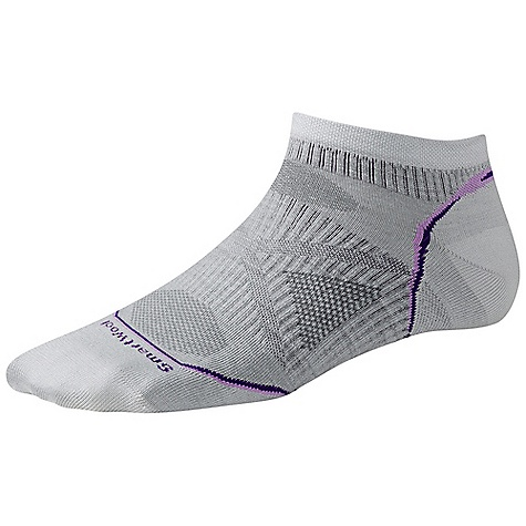 Fitness Smartwool Women's PhD Running Ultra Light Micro DECENT FEATURES of the Smartwool Women's PhD Running Ultra Light Micro New 4 Degree Elite Fit System uses two elastics for greater stretch and recovery to keep the sock in place Patent pending RelioWool Technology in nigh impact areas provides the longer lasting protection to keep feet comfortable Low profile and durable virtually seamless toe Alternating 1 x 1 welt The SPECS Height: Micro Overall Height: 1.5in. 54% Merino Wool, 44% Nylon, 2% Elastane - $15.95