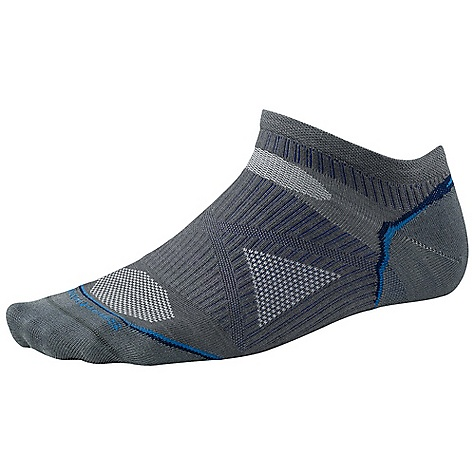 Fitness Smartwool PhD Running Ultra Light Micro DECENT FEATURES of the Smartwool PhD Running Ultra Light Micro New 4 Degree Elite Fit System uses two elastics for greater stretch and recovery to keep the sock in place Patent pending ReliaWool Technology in high impact areas provides the longer lasting protection to keep feet comfortable Low profile and durable virtually seamless toe Alternating 1 x 1 welt The SPECS Height: Micro Overall Height: 1.5in. 54% Merino Wool, 44% Nylon, 2% Elastane - $15.95
