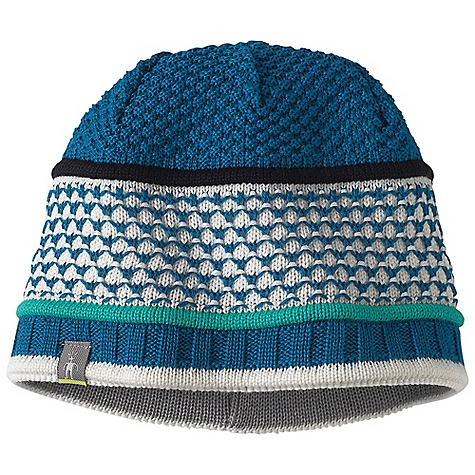 Entertainment Smartwool Women's Quilted Bells Hat DECENT FEATURES of the Smartwool Women's Quilted Bells Hat Textured multicolored knit Interior headband liner The SPECS Shell: 50% Merino Wool/ 50% Acrylic Headband Liner: 100% Merino Wool - $39.95