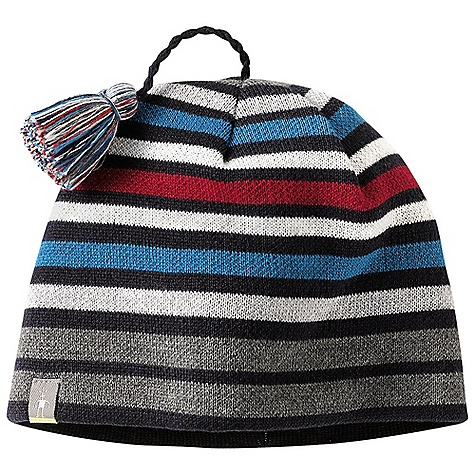 Entertainment Smartwool Kids' Warm Wintersport Stripe Hat DECENT FEATURES of the Smartwool Kids' Warm Wintersport Stripe Hat Warm: Single layer jersey knit construction with interior headband liner The SPECS Shell: 50% Merino Wool, 50% Acrylic Headband Liner: 100% Merino Wool 100% Merino Wool - $29.95