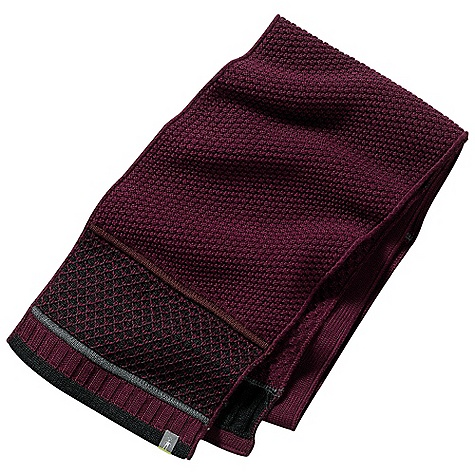 Free Shipping. Smartwool Women's Quilted Bells Scarf DECENT FEATURES of the Smartwool Women's Quilted Bells Scarf Textured multicolored knit The SPECS Fabric: 50% Merino Wool / 50% Acrylic - $49.95