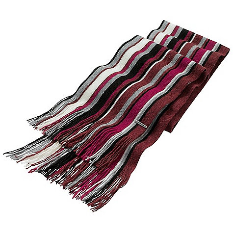 Free Shipping. Smartwool Longview Scarf DECENT FEATURES of the Smartwool Longview Scarf Single layer construction with warp knit stripe pattern on three colorways Fringe finishing detail at scarf ends The SPECS Fabric: 100% Merino Wool - $49.95