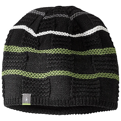 Entertainment Smartwool Warmer Hat DECENT FEATURES of the Smartwool Warmer Hat Textured knit with a variety of pattern options Interior headband liner The SPECS Shell: 50% Merino Wool/ 50% Acrylic Headband Liner: 100% Merino Wool - $35.95