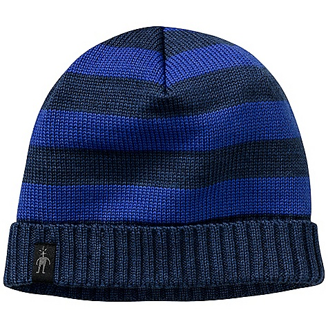 Entertainment Smartwool Double Insignia Hat DECENT FEATURES of the Smartwool Double Insignia Hat Single layer construction with exterior rib cuff detail Simple allover stripe pattern 100% Merino Wool - $34.95