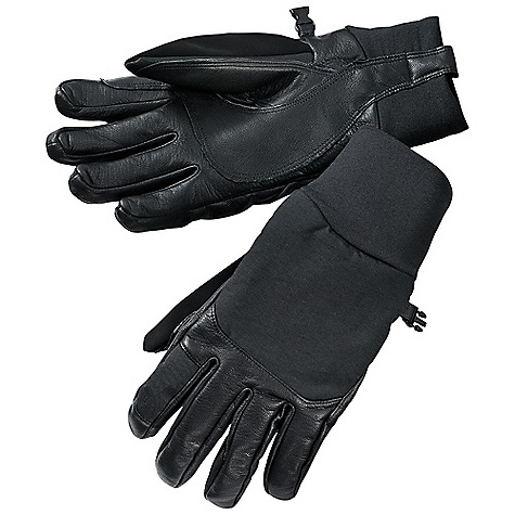 Free Shipping. Smartwool Fresh Trackes Glove DECENT FEATURES of the Smartwool Fresh Trackes Glove Graflex leather on palm, fingers, and pull tab for easy grip Windproof softshell fabric on back of hand with DWR for weather protection HyFi Terry Back knit double layer cuff Nose wipe thumb panel The SPECS Fabric: 80% Merino Wool, 20% Nylon - $79.95