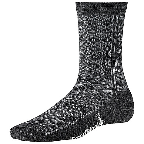 Smartwool Women's Lily Pond Pointelle DECENT FEATURES of the Smartwool Women's Lily Pond Pointelle Supportive arch brace WOW technology The SPECS Height: Crew 77% Merino Wool, 22% Nylon, 1% Elastane - $18.95