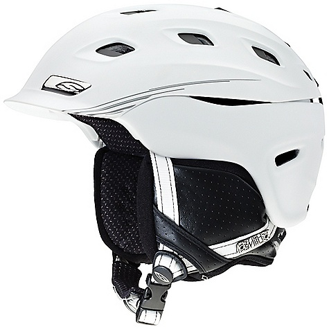 Ski On Sale. Free Shipping. Smith Vantage Helmet DECENT FEATURES of the Smith Vantage Helmet Hybrid SL Shell Construction New Aerocore Technology Featuring Koroyd AirEvac 2 Ventilation New Adjustable Boa FS360 Fit System Low-Profile Dual Regulator Adjustable Climate Control 21 Vents Nano Silver Performance Lining Snapfit SL2 Ear Pads Removable Ultra-Light Goggle Lock Skullcandy Audio Systems Available The SPECS Weight: 17.5 oz / 500 gram The SPECS for Small Size: 51-55 cm The SPECS for Medium Size: 55-59 cm The SPECS for Large Size: 59-63 cm The SPECS for Extra Large Size: 63-67 cm - $151.99