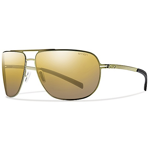 Entertainment Free Shipping. Smith Lineup Sunglasses DECENT FEATURES of the Smith Lineup Sunglasses Large Fit / Large Coverage Carbonic TLT Lenses Stamped Stainless Steel Frame Construction Adjustable Silicone Nose Pads Hydrophilic Megol Temple Pads Barrel Hinges 9 x 3 Toric Base Lens Curvature - $168.95