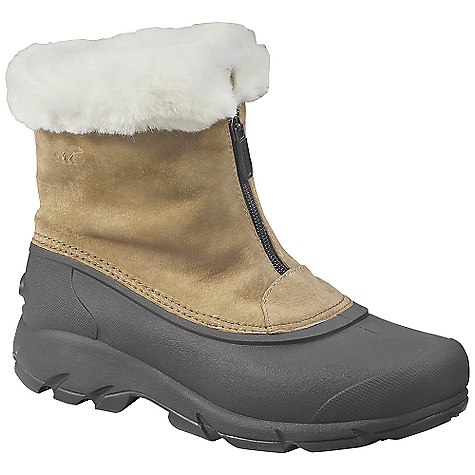 On Sale. Free Shipping. Sorel Women's Snow Angel Zip (Fall 2010) FEATURES of the Women's Snow Angel Zip by Sorel Waterproof suede leather upper 200 grams Thinsulate Insulation Fully lined faux fur interior Removable EVA comfort footbed Injection molded waterproof thermal rubber shell Built on a women's specific last for a great fit Traction enhancing multi-directional lug outsole SPECIFICATIONS: Weight: 19 oz. Height: 6 in. - $58.99