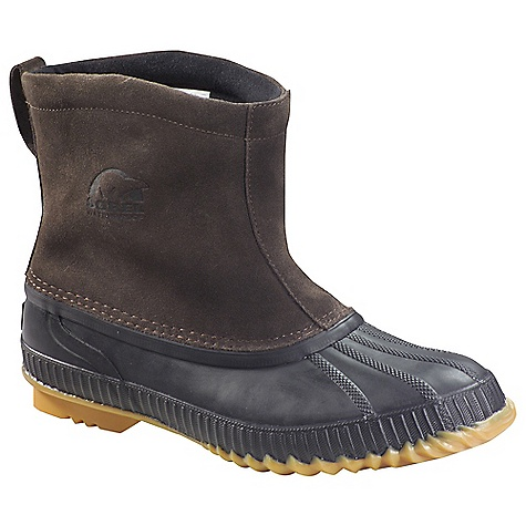 On Sale. Free Shipping. Sorel Men's Cheyanne Boot DECENT FEATURES of the Sorel Men's Cheyanne Boot Seam-sealed waterproof construction Waterproof nubuck upper 200g insulation Removable EVA comfort footbed Waterproof vulcanized rubber shell with herringbone outsole The SPECS Height: 6in. Weight: 23 oz - $70.99