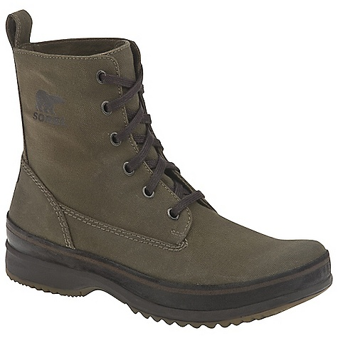 Camp and Hike On Sale. Free Shipping. Sorel Men's Woodbine Surplus Boot DECENT FEATURES of the Sorel Men's Woodbine Surplus Deconstructed canvas upper The SPECS Height: 7.25in. Weight: 15.1 oz - $69.99