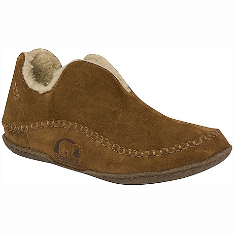 Entertainment On Sale. Free Shipping. Sorel Men's Manawan Slipper DECENT FEATURES of the Sorel Men's Manawan Slipper Suede upper Wool/Acrylic blend lining Removable molded EVA comfort footbed Natural rubber outsole The SPECS Weight: 10.8 oz - $47.99
