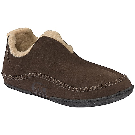 On Sale. Free Shipping. Sorel Men's Manawan Slipper (Fall 2010) DECENT FEATURES of the Sorel Men's Manawan Slipper Suede upper Wool/acrylic blend lining Removable molded EVA comfort foot bed Natural rubber outsole The SPECS Weight: 11 oz / 312 g - $49.99