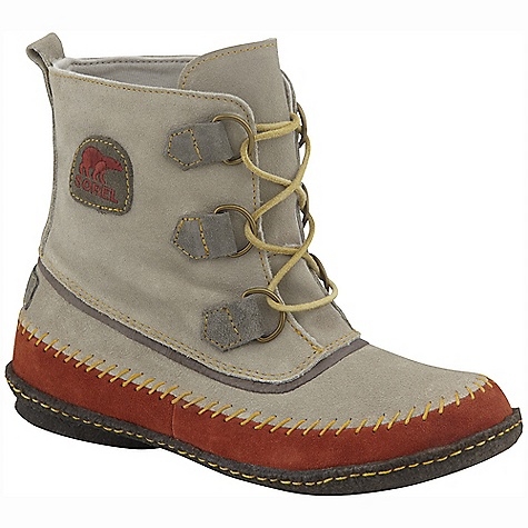 On Sale. Free Shipping. Sorel Women's Joplin Boot DECENT FEATURES of the Sorel Women's Joplin Boot Takes inspiration from Sorel classic styling Infused with a laid back and deconstructed look inspired by 70's female rock. Low key and high style Relaxed Suede upper with a crepe outsole The SPECS Shaft Height: 5.5in. / 14 cm Weight: 10 oz / 283 g - $80.99