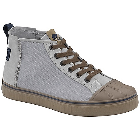 Skateboard Free Shipping. Sorel Men's Sentry Chukka CVS Shoe DECENT FEATURES of the Sorel Men's Sentry Chukka CVS Waxed Canvas and vintage suede upper Removable insole to provide cushioning and support Classic vulcanized rubber construction with signature textured rand The SPECS Height: 4.75in. Weight: 15.1 oz - $94.95