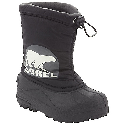 On Sale. Free Shipping. Sorel Youth Snow Commander DECENT FEATURES of the Sorel Youth Snow Commander PU backed synthetic textile upper 200 grams of insulation Injection molded waterproof thermal rubbershell Traction enhancing multi-directional lug outsole The SPECS Height: 9.5in. Weight: 15.2 oz - $37.99