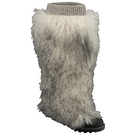 "On Sale. Free Shipping. Sorel Women's Fur High Boot DECENT FEATURES of the Sorel Women's Fur High Boot Shearling and full grain leather upper Approximate heel height 3"" Approximate boot shaft height 14"" Molded rubber outsole The SPECS Height: 19 in Weight: 22.5 oz - $283.99"
