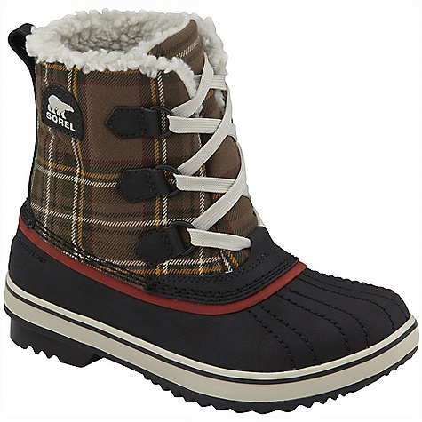On Sale. Free Shipping. Sorel Youth Tivoli DECENT FEATURES of the Sorel Youth Tivoli Water resistant upper and shell 100g Thinsulate Insulation Full length fleece lining Removable EVA foot bed Molded rubber outsole inspired by the classic 1964 Pac boot offering excellent traction The SPECS Weight: 12 oz / 340 g Shaft Height: 6.75in. / 17 cm - $55.99