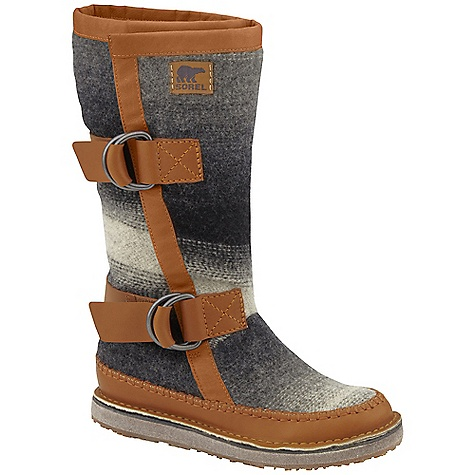 On Sale. Free Shipping. Sorel Women's Chipahko Blanket DECENT FEATURES of the Sorel Women's Chipahko Blanket Water and stain resistant wool upper with full-grain leather overlays Pressed felt midsole for cushioning Molded rubber outsole for durability The SPECS Weight: 20 oz / 560 g Shaft Height: 12in. / 31 cm - $111.99
