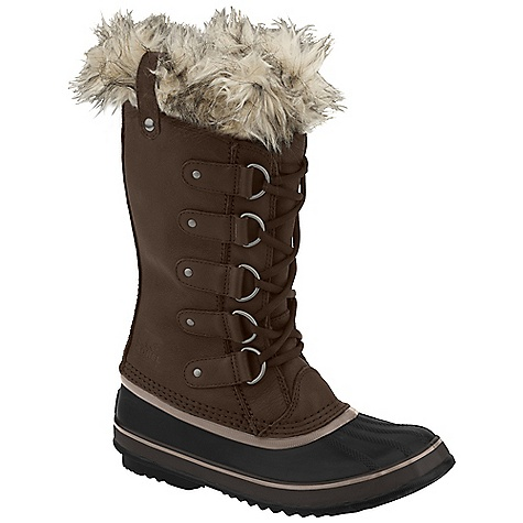 Free Shipping. Sorel Women's Joan Of Arctic Premium DECENT FEATURES of the Sorel Women's Joan Of Arctic Premium Seam-sealed waterproof construction Waterproof full-grain and suede upper A removable 6mm recycled felt Inner Boot Faux fur snow cuff 25mm bonded felt frost plug Handcrafted waterproof vulcanized rubber shell with herringbone outsole The SPECS Weight: 31 oz / 874 g Shaft Height: 12in. / 30.5 cm - $194.95
