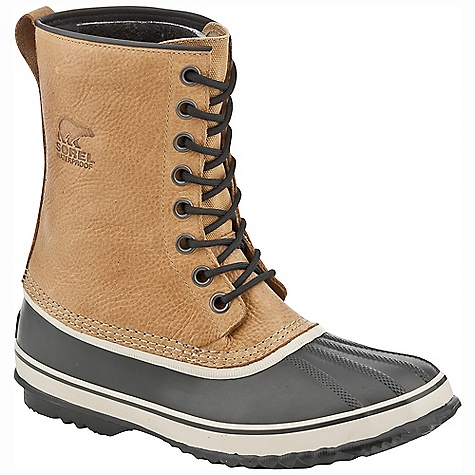 On Sale. Free Shipping. Sorel Men's 1964 Premium T Boot DECENT FEATURES of the Sorel Men's 1964 Premium T Boot Seam-sealed waterproof construction Waterproof leather upper Removable 9mm washable recycled felt inner boot Waterproof vulcanized rubber shell The SPECS Weight: 29 oz / 822 g Shaft Height: 9.5in. / 24 cm - $75.99