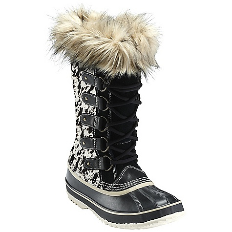 Free Shipping. Sorel Women's Joan Of Arctic Reserve DECENT FEATURES of the Sorel Women's Joan Of Arctic Reserve Seam-sealed waterproof construction Leather upper A removable 6mm recycled felt Inner Boot Faux fur snow cuff 25mm bonded felt frost plug Handcrafted waterproof vulcanized rubber shell with herringbone outsole The SPECS Weight: 31 oz / 879 g Shaft Height: 12in. / 30.5 cm - $399.95