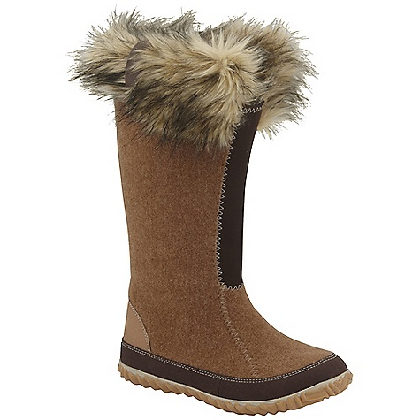 Free Shipping. Sorel Women's Cozy Joan DECENT FEATURES of the Sorel Women's Cozy Joan Washable Recycled Felt with two layer construction: wicking polypropylene pulls moisture away from foot Insulative blend of polypropylene and recycled polyester traps warm air Stretch front shaft ensure comfortable fit and seals cold air out Removable molded foot bed for comfort Rubber outsole for durability The SPECS Weight: 13 oz / 369 g Shaft Height: 12.5in. / 31.8 cm - $129.95
