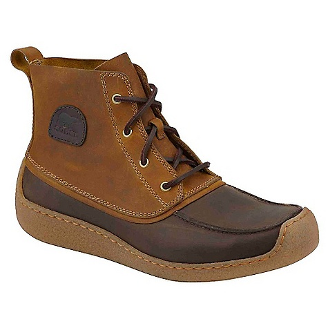 Free Shipping. Sorel Men's Chugalug Chukka DECENT FEATURES of the Sorel Men's Chugalug Chukka Full grain leather upper Removable foot bed Crepe-like clear rubber outsole The SPECS Weight: 16.3 oz / 464 g Shaft Height: 5in. / 13 cm - $169.95