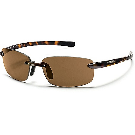 Entertainment Free Shipping. Suncloud Momentum Sunglasses DECENT FEATURES of the Suncloud Momentum Sunglasses Polarized Injection Polycarbonate lenses 8 base lens curvature Megol nose and/or temple pads on select styles Grilamid frame material Custom metal logo plaques Microfiber cleaning/storage bag - $49.95