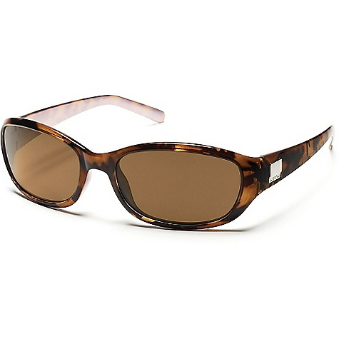 Entertainment Free Shipping. Suncloud Iris Sunglasses DECENT FEATURES of the Suncloud Iris Sunglasses Polarized Injection Polycarbonate lenses 8 base lens curvature Megol nose and/or temple pads on select styles Grilamid frame material Custom metal logo plaques Microfiber cleaning/storage bag - $49.95