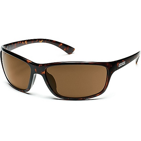 Entertainment Free Shipping. Suncloud Sentry Sunglasses DECENT FEATURES of the Suncloud Sentry Sunglasses Polarized Injection Polycarbonate lenses 8 base lens curvature Megol nose and/or temple pads on select styles Grilamid frame material Custom metal logo plaques Microfiber cleaning/storage bag - $49.95