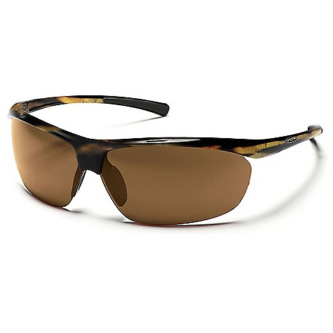 Entertainment Free Shipping. Suncloud Zephyr Sunglasses DECENT FEATURES of the Suncloud Zephyr Sunglasses Polarized Injection Polycarbonate lenses 8 base lens curvature Megol nose and/or temple pads on select styles Grilamid frame material Custom metal logo plaques Microfiber cleaning/storage bag - $49.95