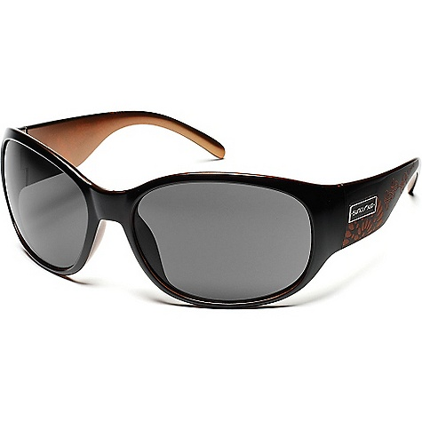 Entertainment Free Shipping. Suncloud Carousel Sunglasses DECENT FEATURES of the Suncloud Carousel Sunglasses Polarized Injection Polycarbonate lenses 8 base lens curvature Megol nose and/or temple pads on select styles Grilamid frame material Custom metal logo plaques Microfiber cleaning/storage bag - $49.95