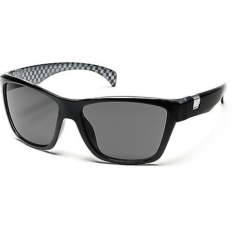 Entertainment Free Shipping. Suncloud Speedtrap Sunglasses DECENT FEATURES of the Suncloud Speedtrap Sunglasses Polarized Injection Polycarbonate lenses 8 base lens curvature Megol nose and/or temple pads on select styles Grilamid frame material Custom metal logo plaques Microfiber cleaning/storage bag - $49.95