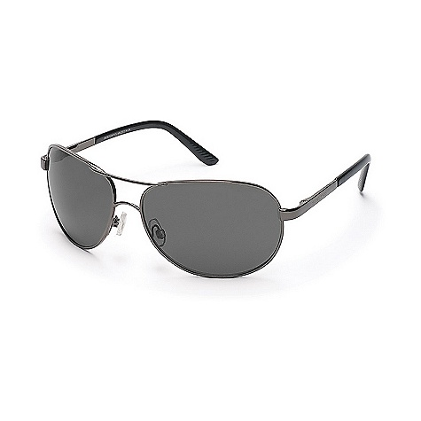 Entertainment Free Shipping. Suncloud Aviator 1.5 Sunglasses DECENT FEATURES of the Suncloud Aviator 1.5 Polarized Injection Polycarbonate lenses Silicone nose pads Spring hinges on select styles 100% protection from harmful UVA and UVB rays Microfiber cleaning/storage bag 8 base lens curvature - $89.95