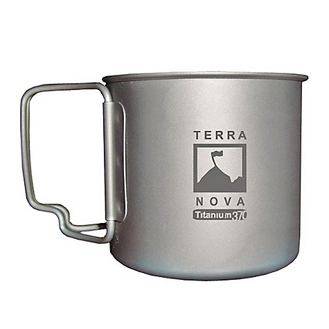 Terra Nova Titanium Cooking Mug DECENT FEATURES of the Terra Nova Titanium Cooking Mug Titanium cup for lightweight travel 370ml mug for cooking/drinking on the move This product can only be shipped within the United States. Please don't hate us. - $36.95