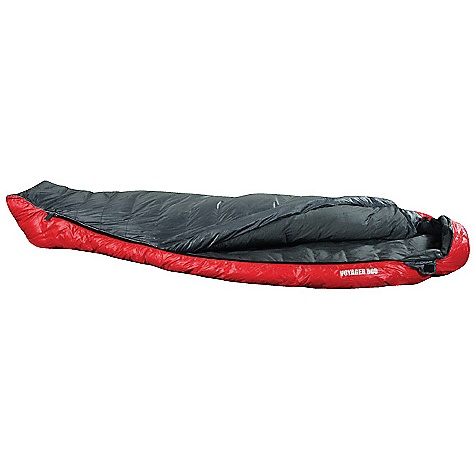 Camp and Hike Free Shipping. Terra Nova Voyager 800 Sleeping Bag DECENT FEATURES of the Terra Nova Voyager 800 Sleeping Bag Mummy hood Full zip Zip baffle Small pack size The SPECS Comfort Lower Limit: 32deg F / 0deg C Extreme Temperature: 20deg F / 15deg C Pack Size: 11.4 x 6.4in. / 29 x 16 cm Full Length: 85in. / 215 cm Weight: 28 oz / 843 g This product can only be shipped within the United States. Please don't hate us. - $449.95