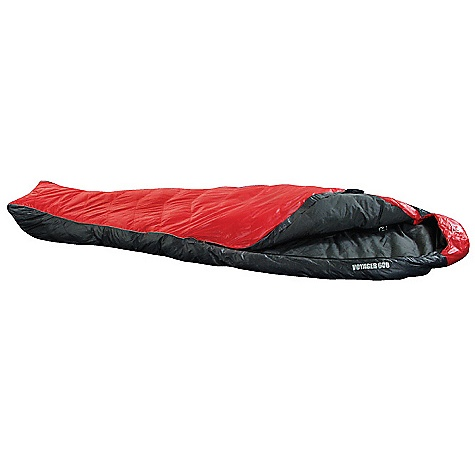 Camp and Hike Free Shipping. Terra Nova Voyager 600 Sleeping Bag DECENT FEATURES of the Terra Nova Voyager 600 Sleeping Bag Drawstring hood Reflective piping Half Zip Small pack size The SPECS Comfort Lower Limit: 50deg F / 10deg C Extreme Temperature: 37deg F / -5deg C Pack Size: 10.2 x 4.6in. / 26 x 12 cm Full Length: 78in. / 200 cm Weight: 18 oz / 600 g This product can only be shipped within the United States. Please don't hate us. - $319.95