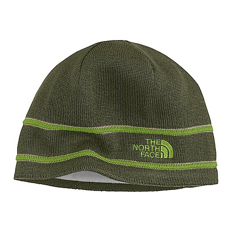 Entertainment On Sale. The North Face Logo Beanie DECENT FEATURES of The North Face Logo Beanie Embroidered TNF Logo Imported The SPECS Body: 100% merino wool Lining: Micro-fleece earband Shell: 10% wool 30% acrylic This product can only be shipped within the United States. Please don't hate us. - $14.99