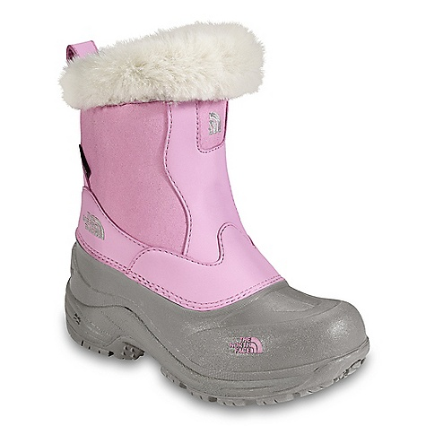 On Sale. Free Shipping. The North Face Girls Greenland Zip Boot DECENT FEATURES of The North Face Girls' Greenland Zip Boot Upper: Non-hydrolytic synthetic nubuck upper Waterproof construction for ultimate weather protection Faux fur collar HydroSeal waterproof membrane Medial side-locking zip for easy step-in and step-out Bottom: TPR shell bottom with durable rubber outsole Imported The SPECS Last: TNF-008 Comfort Range: -40deg F / -40deg C Approx Weight: 1/2 pair: 13 oz / 370 g, pair: 1 lb 10 oz / 740 g Insulation: 400 g Heat seeker This product can only be shipped within the United States. Please don't hate us. - $41.99