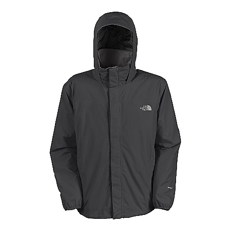 Free Shipping. The North Face Men's Resolve Jacket FEATURES of The North Face Men's Resolve Jacket Waterproof, breathable, seam sealed Mesh lined Brushed collar lining Adjustable hood stows in collar Center front zip and Velcro closure Two secure-zip hand pockets Hem cinch-cord - $89.95