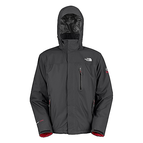 On Sale. Free Shipping. The North Face Men's Plasma Thermal Jacket DECENT FEATURES of The North Face Men's Plasma Thermal Jacket Performance fit Waterproof, breathable, seam sealed Fully adjustable, removable hood with a laminated brim Napoleon chest pocket Internal security zip pocket Pit-zips Two hand pockets Nonabrasive molded cuff tabs Hideaway hem cinch-cord Imported The SPECS Average Weight: 28.2 oz / 798 g Center Back Length: 28in. shell: 40D 100 g/m2 (2.9 oz/yd2) HyVent Alpha 2L 100% nylon faille weave Abrasion: 70D 151 g/m2 (4.4 oz/yd2) HyVent DT 2.5L 100% nylon Insulation: 100 g PrimaLoft One This product can only be shipped within the United States. Please don't hate us. - $225.99